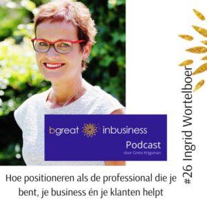 Coaching Noord podcast bgreat inbusiness